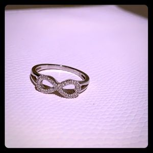 Jewelry - Infinity ring sterling silver